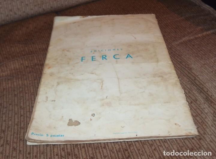 Coleccionismo Álbumes: ALBUM VIDA Y AVENTURAS DE BUFFALO BILL,EDICIONES FERCA,FALTAN 24 CROMOS - Foto 2 - 218802158