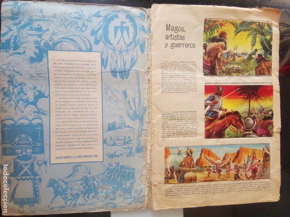 Coleccionismo Álbumes: ÁLBUM CROMOS LEJANO OESTE 2 ED. GENERALES FALTAN 2 CROMOS - Foto 2 - 176266264