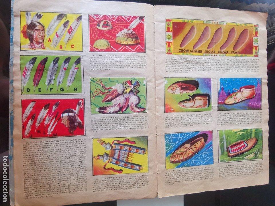 Coleccionismo Álbumes: ÁLBUM CROMOS LEJANO OESTE 2 ED. GENERALES FALTAN 2 CROMOS - Foto 5 - 176266264