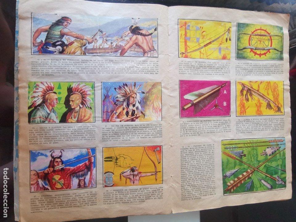 Coleccionismo Álbumes: ÁLBUM CROMOS LEJANO OESTE 2 ED. GENERALES FALTAN 2 CROMOS - Foto 6 - 176266264