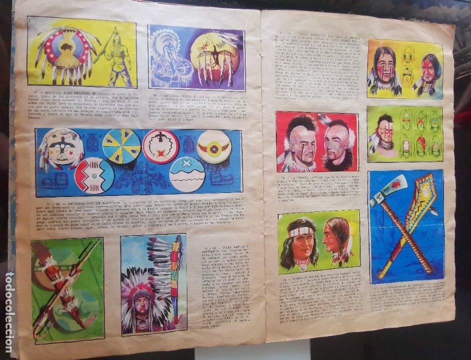 Coleccionismo Álbumes: ÁLBUM CROMOS LEJANO OESTE 2 ED. GENERALES FALTAN 2 CROMOS - Foto 7 - 176266264