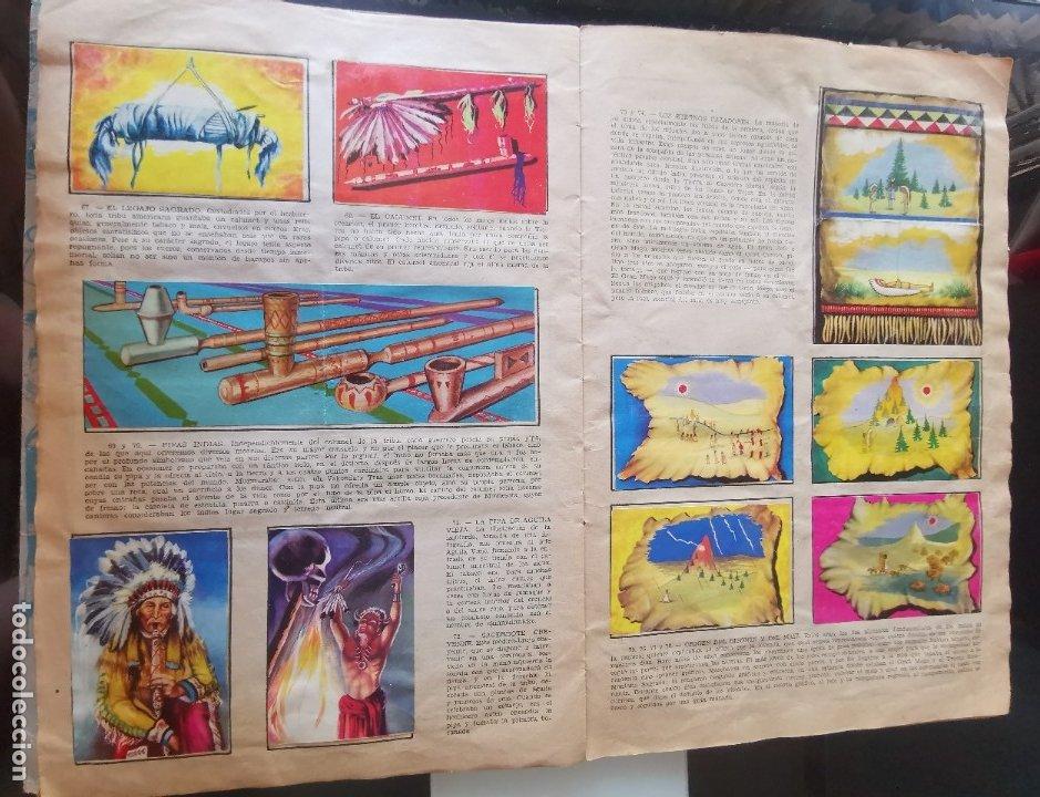 Coleccionismo Álbumes: ÁLBUM CROMOS LEJANO OESTE 2 ED. GENERALES FALTAN 2 CROMOS - Foto 8 - 176266264