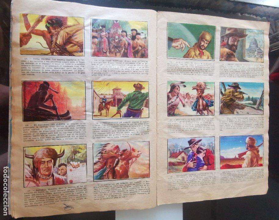 Coleccionismo Álbumes: ÁLBUM CROMOS LEJANO OESTE 2 ED. GENERALES FALTAN 2 CROMOS - Foto 13 - 176266264