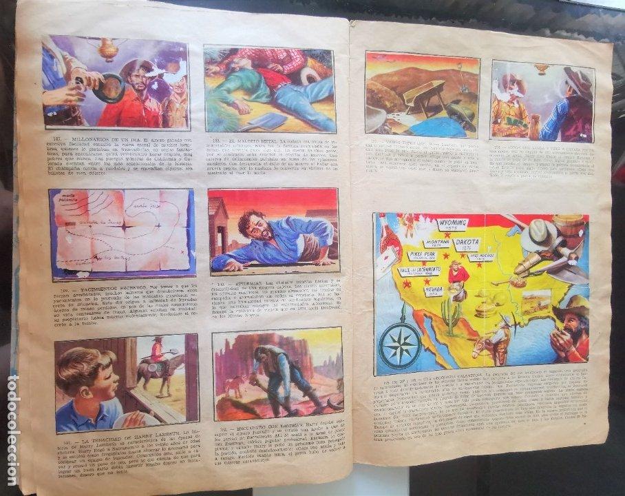 Coleccionismo Álbumes: ÁLBUM CROMOS LEJANO OESTE 2 ED. GENERALES FALTAN 2 CROMOS - Foto 18 - 176266264
