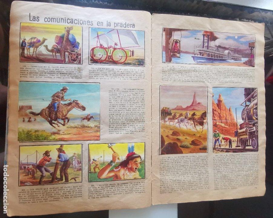Coleccionismo Álbumes: ÁLBUM CROMOS LEJANO OESTE 2 ED. GENERALES FALTAN 2 CROMOS - Foto 19 - 176266264