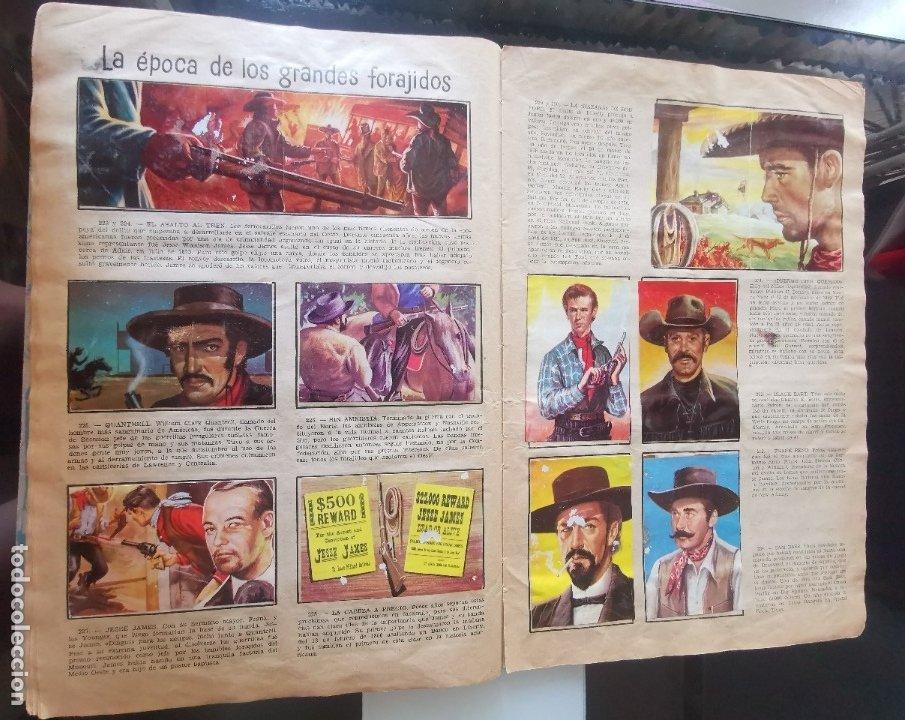 Coleccionismo Álbumes: ÁLBUM CROMOS LEJANO OESTE 2 ED. GENERALES FALTAN 2 CROMOS - Foto 21 - 176266264