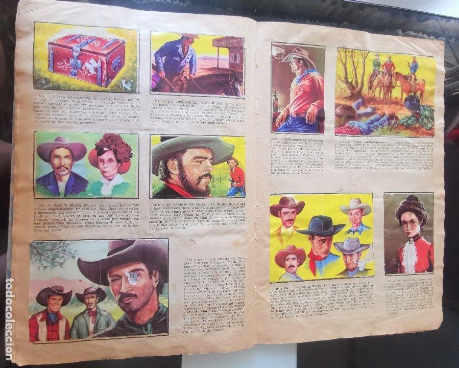 Coleccionismo Álbumes: ÁLBUM CROMOS LEJANO OESTE 2 ED. GENERALES FALTAN 2 CROMOS - Foto 22 - 176266264