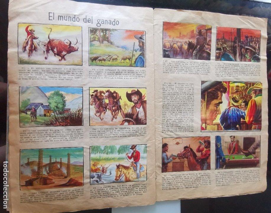 Coleccionismo Álbumes: ÁLBUM CROMOS LEJANO OESTE 2 ED. GENERALES FALTAN 2 CROMOS - Foto 25 - 176266264