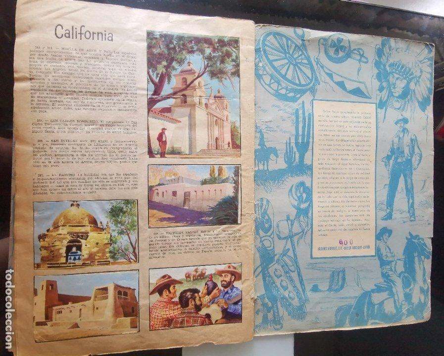 Coleccionismo Álbumes: ÁLBUM CROMOS LEJANO OESTE 2 ED. GENERALES FALTAN 2 CROMOS - Foto 26 - 176266264