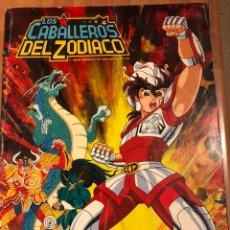 Coleccionismo Álbumes: ÁLBUM DE CROMOS LOS CABALLEROS DEL ZODIACO.PANINI. Lote 176308739