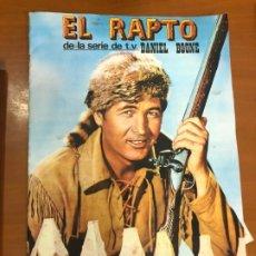 Coleccionismo Álbumes: EL RAPTO DANIEL BOONE COMPLETO A FALTA DE CROMO 9-33-119-135 Y 160 MUY BUEN ESTADO. Lote 176334775