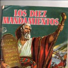 Coleccionismo Álbumes: ALBUM-DE-CROMOS-1959-BRUGUERA-FALTAN-UNOS- 40 CROMOS LOS DIEZ 10 MANDAMIENTOS. Lote 176389785