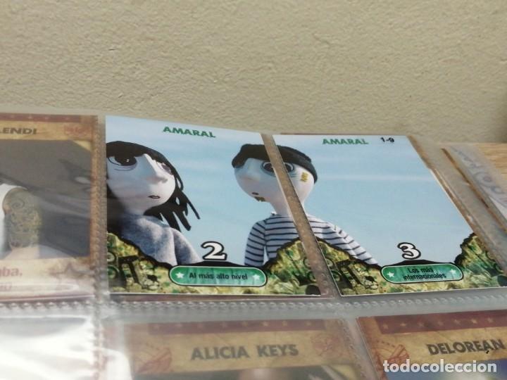 Coleccionismo Álbumes: ALBUM MUSICARDS CON 86 CROMOS DE LOS 162 - Foto 2 - 176394837