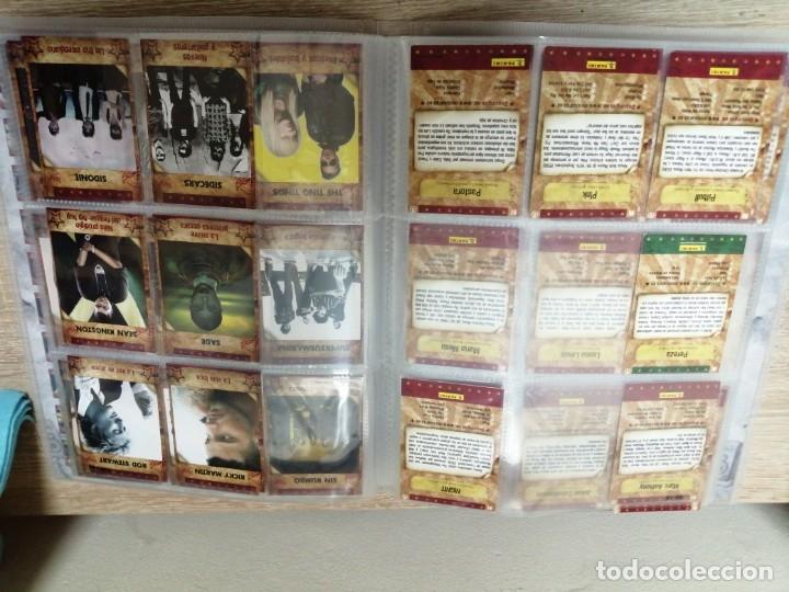Coleccionismo Álbumes: ALBUM MUSICARDS CON 86 CROMOS DE LOS 162 - Foto 3 - 176394837