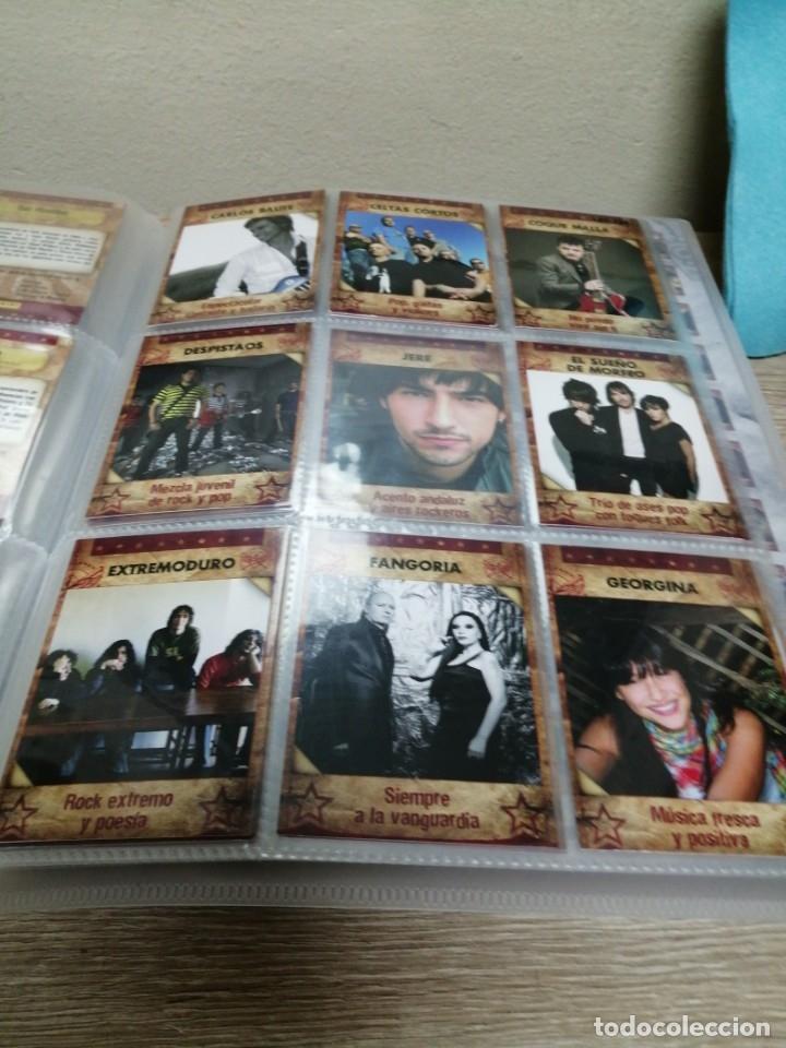 Coleccionismo Álbumes: ALBUM MUSICARDS CON 86 CROMOS DE LOS 162 - Foto 4 - 176394837