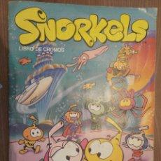 Coleccionismo Álbumes: SNORKELS. Lote 176524875