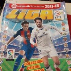 Coleccionismo Álbumes: FUTBOL 2017/18 PAN8NI VACIO. Lote 176926322