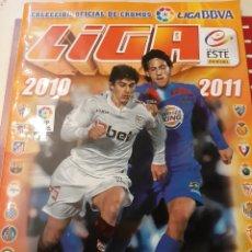 Coleccionismo Álbumes: LIGA 2010/11 FUTBOL ALBUM VACIO. Lote 176927288
