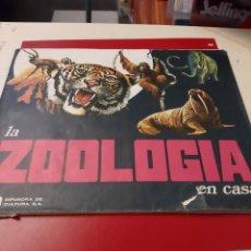Coleccionismo Álbumes: ZOOLOGÍA ALBUM CON MUCHOS CROMOS. Lote 176971589