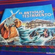 Coleccionismo Álbumes: BUEN ESTADO, EL ANTIGUO TESTAMENTO INCOMPLETO FALTAN 56 DE 247 CROMOS. FERMA 1968.. Lote 177142933