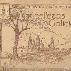 Coleccionismo Álbumes: LAS BELLEZAS DE GALICIA. JUAN GIL CAÑELLAS. (ÁLBUM CON 296 CROMOS FOTOS) EN MUY BUEN ESTADO. Lote 177181309