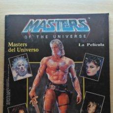 Coleccionismo Álbumes: ALBUM MASTERS OF THE UNIVERSE / MASTERS DEL UNIVERSO, PANINI 1987 FALTAN 24 CROMOS, CON 201 CROMOS. Lote 177193699