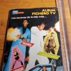 Coleccionismo Álbumes: ÀLBUM DE LA REVISTA TELE INDISCRETA, ÀLBUM FICHERO TV. LAS ESCENAS MÁS.... Lote 177204950