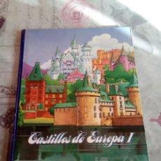Coleccionismo Álbumes: AIBUM COMPLETO CASTILLOS DE EUROPA I LECHE EL CASTILLO. Lote 177296139
