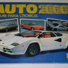 Coleccionismo Álbumes: ALBUM CROMOS AUTO 2000 2.000 SOLO AUTO ACTUAL COMIC ROMO FALTAN 9 CROMOS. Lote 177410560
