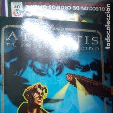 Coleccionismo Álbumes: ALBUM ATLANTIS PANINI NUEVO COMPLETAMENTE VACIO. Lote 196734575
