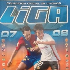 Coleccionismo Álbumes: LIGA 07-08, CASI COMPLETO.. Lote 177665864