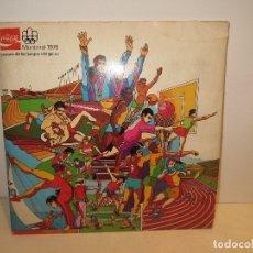 Coleccionismo Álbumes: ALBUM MONTREAL 76 DE COCA COLA SOLO FALTAN 5 MUY BUEN ESTADO BARATO. Lote 177749575