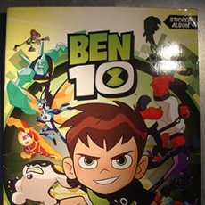 Coleccionismo Álbumes: ALBUM BEN 10 DE PANINI. Lote 177754600