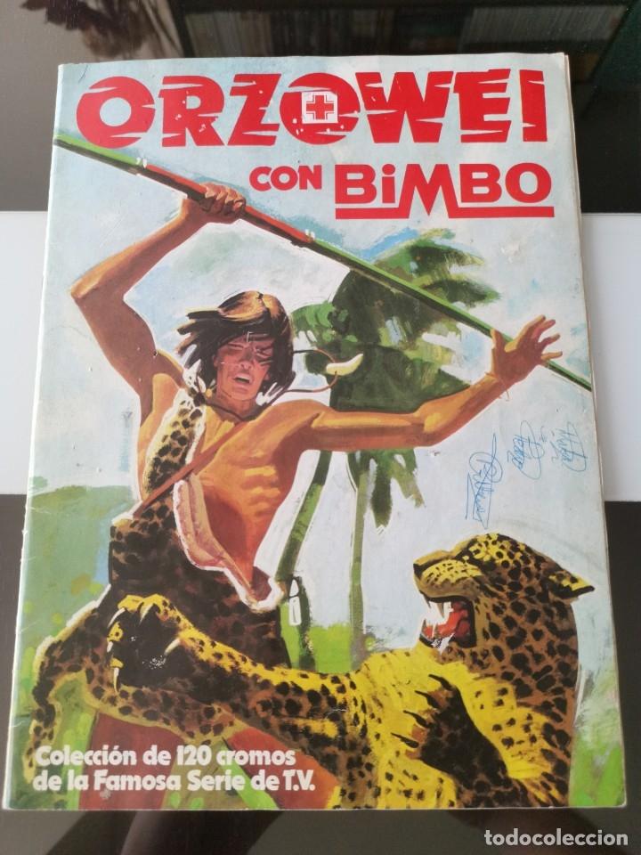ÁLBUM CROMOS PANRICO BIMBO ORZOWEI (Coleccionismo - Cromos y Álbumes - Álbumes Incompletos)