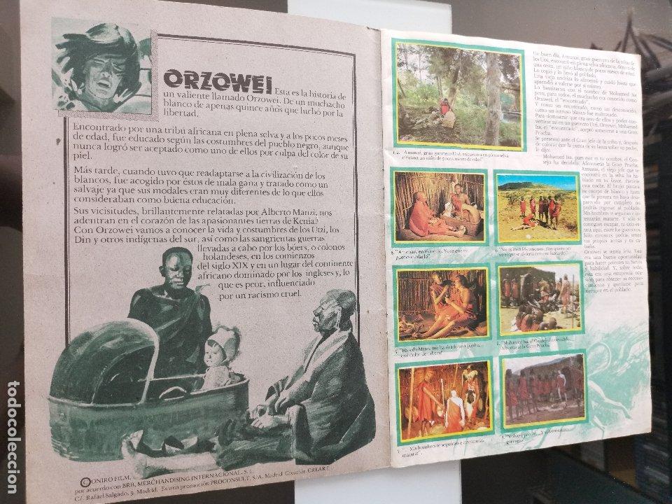 Coleccionismo Álbumes: ÁLBUM CROMOS PANRICO BIMBO ORZOWEI - Foto 2 - 177756863