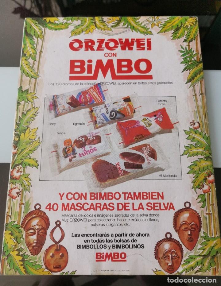 Coleccionismo Álbumes: ÁLBUM CROMOS PANRICO BIMBO ORZOWEI - Foto 11 - 177756863
