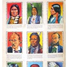 Coleccionismo Álbumes: ALBUM 1957 HISTORIAS DE CONQUISTADORES Y HAZANAS DE PIELES ROJAS Y COW BOYS. INDIOS. FHER. FALTAN 8. Lote 178071413
