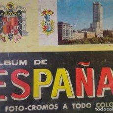 Coleccionismo Álbumes: ALBUM DE ESPAÑA FALTAN 5 DE LA COLECCIÓN DE 315 CROMOS ED COLECCIONES EDUCATIVAS, VER FOTOS. Lote 178210161