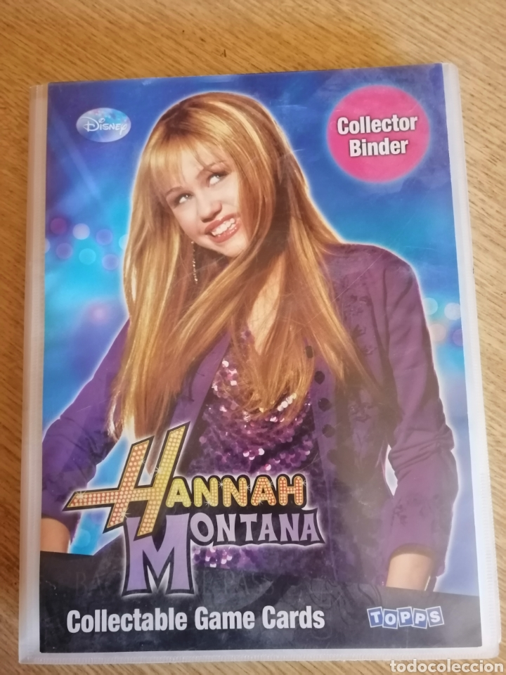 HANNAH MONTANA. ALBUM 120 CROMOS (Coleccionismo - Cromos y Álbumes - Álbumes Incompletos)