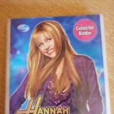 Coleccionismo Álbumes: HANNAH MONTANA. ALBUM 120 CROMOS. Lote 178334365