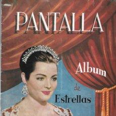 Coleccionismo Álbumes: PANTALLA ALBUM DE ESTRELLAS. Lote 178390457