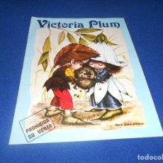 Coleccionismo Álbumes: ALBUM CROMOS VICTORIA PLUM FHER 1982 VACIO. Lote 178570231