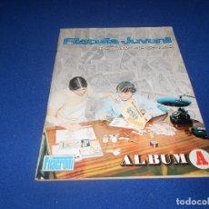 Coleccionismo Álbumes: FILATELIA JUVENIL ÁLBUM A NO COMPLETO VACIO PLANCHA FILACROM 1973. MUY BUEN ESTADO Y RARO.. Lote 178570827