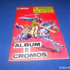Coleccionismo Álbumes: ÁLBUM DE CROMOS EL GUERRERO DEL ANTIFAZ, MAGA, NO COMPLETO 192 CROMOS, AÑO 1979. ERCOM. Lote 178571821