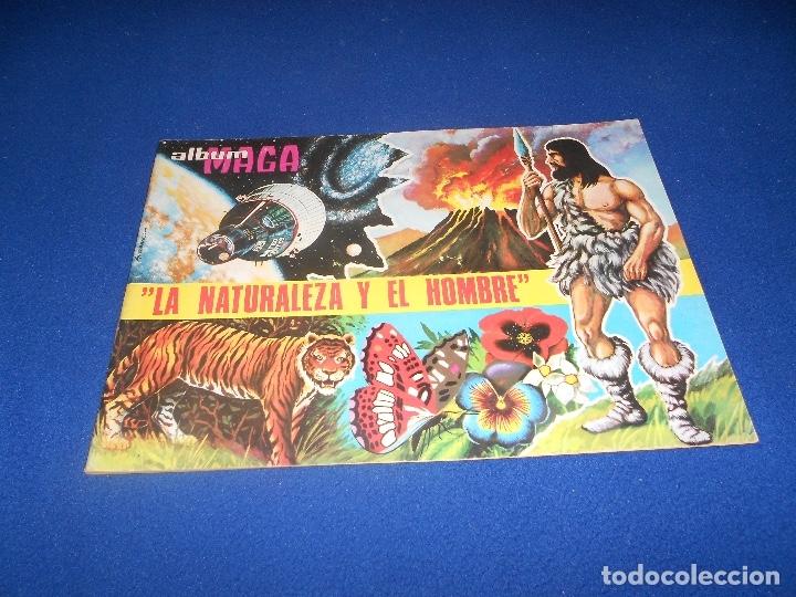 ALBUM LA NATURALEZA Y EL HOMBRE. EDITORIAL MAGA AÑO 1967. VACÍO. PERFECTO ALMACEN (Coleccionismo - Cromos y Álbumes - Álbumes Incompletos)