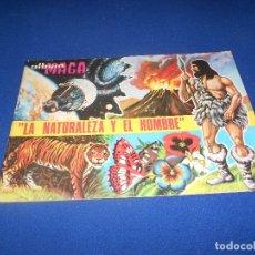 Coleccionismo Álbumes: ALBUM LA NATURALEZA Y EL HOMBRE. EDITORIAL MAGA AÑO 1967. VACÍO. PERFECTO ALMACEN. Lote 178577232