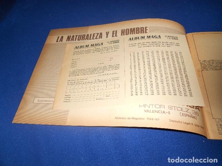 Coleccionismo Álbumes: Album LA NATURALEZA Y EL HOMBRE. Editorial MAGA año 1967. Vacío. perfecto ALMACEN - Foto 2 - 178577232