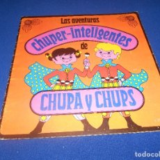 Coleccionismo Álbumes: ALBUM CHUPA Y CHUPS LAS AVENTURAS CHUPER INTELIGENTES NO COMPLETO VACIO PLANCHA ALMACEN. Lote 178588601