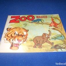 Coleccionismo Álbumes: AALBUM ZOO MAGICO DE CHICLE BAZOOKA JOE.TOPPS.1970 VACIO PLANCHA NUEVO DE ALMACEN. Lote 178589198