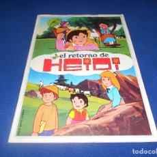 Coleccionismo Álbumes: ÁLBUM EL RETORNO DE HEIDI (DISGRA-FHER) 1975 COMPLETO. Lote 178590317